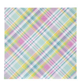 "Pastel Plaid Scrapbook Paper - 12"" x 12"""