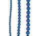 Blue Glass Pearl Bead Strands