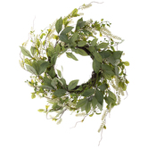 Mixed Leaves & Berries Wreath