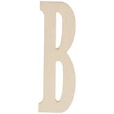 "Vintage Sign Wood Letters B - 4"""