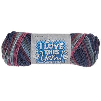 Plums Print I Love This Yarn