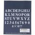 Uppercase Formal Alphabet Stencils