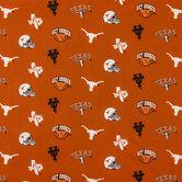 Texas Allover Collegiate Cotton Fabric