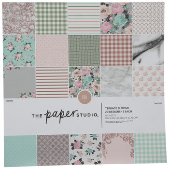 Terrace Blooms Foil Paper Pack