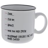Need More Coffee Mug
