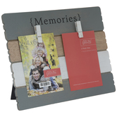 Memories Wood Clip Frame