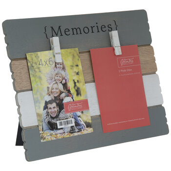 Memories Wood Clip Frame