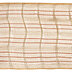 Orange & Beige Checkered Deco Mesh Ribbon - 5 1/2