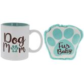 Dog Mom Mug & Dog Toy