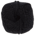 Black Sparkle Yarn Bee Soft & Sleek Yarn