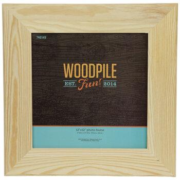 "Wood Wall Frame - 12"" x 12"""