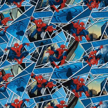 Spider-Man Cotton Calico Fabric