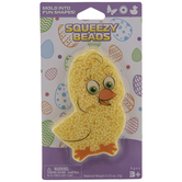 Yellow Chick Squeezy Beads