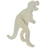 Wood Standing Dinosaur