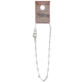 Sterling Silver Plated Vintage Bracelet
