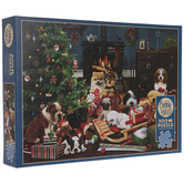 Christmas Puppies Puzzle