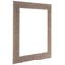 Brown Beveled Wood Open Frame - 11