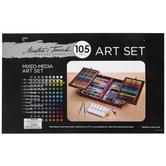 Mixed Media Art Set - 105 Pieces