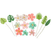 Carida Flower Embellishments
