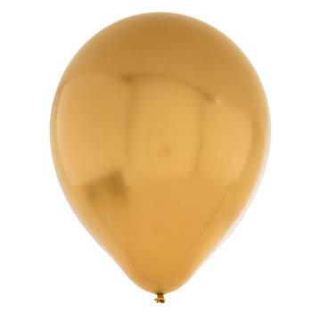Gold Metallic Balloons