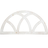 Arched Window Pane Wood Wall Decor