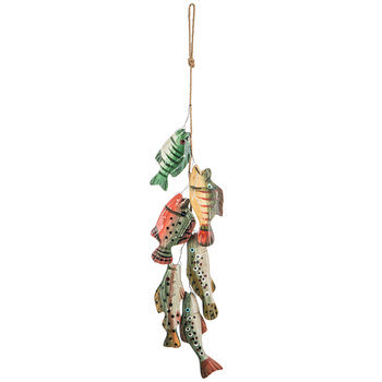 Fish On A String Wall Decor