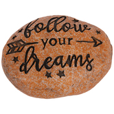 Follow Your Dreams Garden Stone