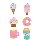 Sweets Metal Stickers