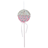 Polka Dot Lollipop Pick