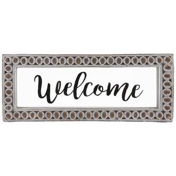 Welcome Framed Decor