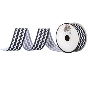 Chevron Grosgrain Ribbon - 1 1/2""
