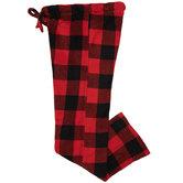 Red & Black Buffalo Check Pajama Pants