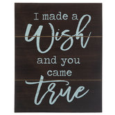 Wish Came True Wood Wall Decor