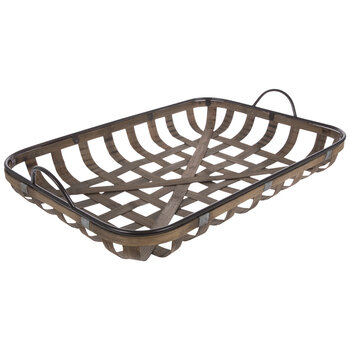 Tobacco Woven Tray