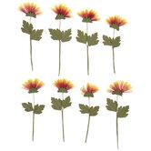 Autumn Sunflower Embellishments