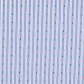 Neon Dobby Striped Cotton Fabric