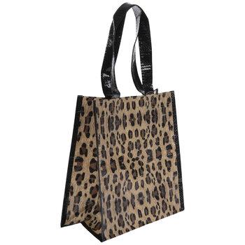 Leopard Print Tote Bag
