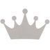 Crown Chipboard Shape - 11