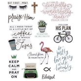 But First Pray Stickers