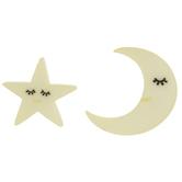 Moon & Stars Shank Buttons