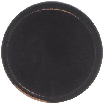 Black Metal Round Knob