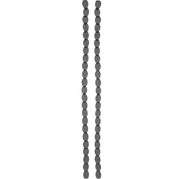 Plated Hematite Oval Bead Strands