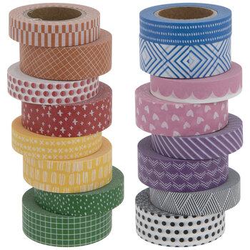 Multi-Color Patterned Washi Tape