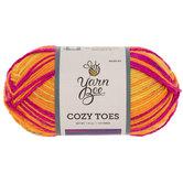 Fierce Flame Yarn Bee Cozy Toes Yarn