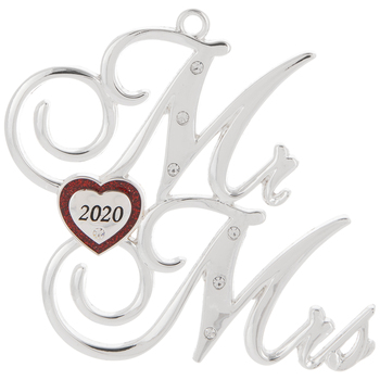 Mr & Mrs 2020 Ornament