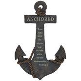 Proverbs 3:5 Anchored Wall Decor
