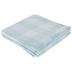 Aqua Buffalo Check Tablecloth