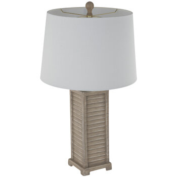 Wood Grain Shutters Lamp