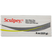 White Sculpey III Clay - 8 Ounce