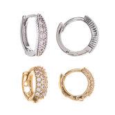 Clasp Hoop Earrings